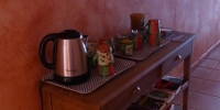 free access any time to hot beverages tea coffee